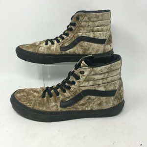 Vans Skateboard Shoe Sneaker High Top Lace Up Velv